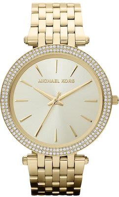 Michael Kors Ladies' Darci Pavé Gold-Tone Watch