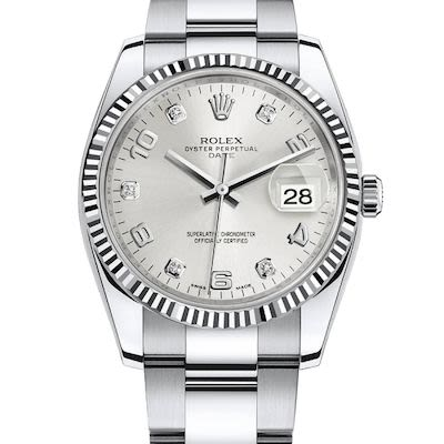 Rolex Ladies Datejust 34 Oyster Perpetual Watch