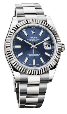 Rolex Gent's Datejust 41 Oyster Perpetual Watch White Gold
