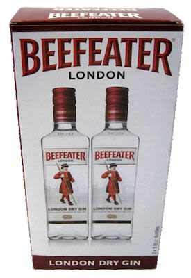 Beefeater Dry Gin Twin Pack 2x100 cl. - Alc. 47% Vol.