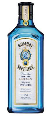 Bombay Sapphire 175 cl. - Alc. 47% Vol.