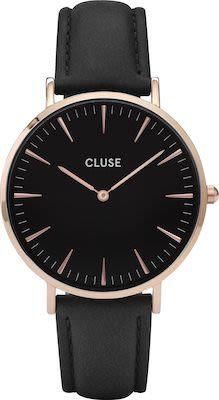 Cluse La Bohème Ladies' Watch Rose Gold Black Black