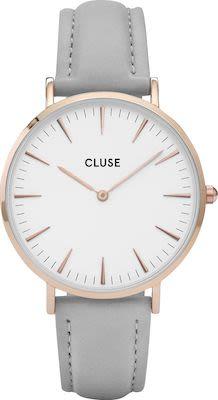 Cluse La Bohème Ladies' Watch Rose Gold White Grey