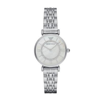 Emporio Armani Ladies' Gianni T-Bar Watch Steel