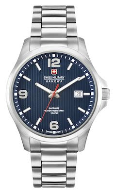 Swiss Military Gents Observer Watch Blue