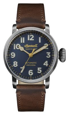 Ingersoll Gents The Linden Automatic Watch Brown Horween