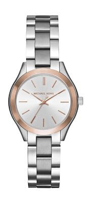 Michael Kors Ladies' Mini Slim Runway Two-Tone Watch