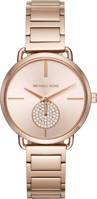 Michael Kors Ladies' Portia Rose Gold-Tone Watch