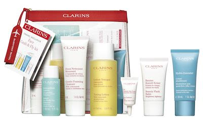Clarins Take Off Grab & Fly Set