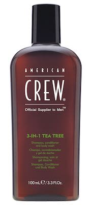 American Crew Tea Tree 3-in-1 (Shampoo, Conditioner and Body Wash) 100 ml