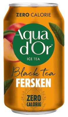 Aquador Ice tea peach 24x30 cl. cans
