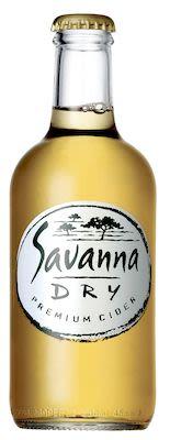 Savanna Dry Premium 24x33 cl. btls. - Alc. 5.5% Vol.
