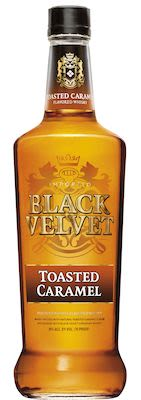 Black Velvet Toasted Caramel 100 cl. - Alc. 35% Vol.