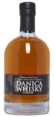 Braunstein Danica Peated Danish Single Malt 50 cl. Alc. 42% Vol.