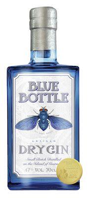 Blue Bottle Artisan Dry, Guernsey 100 cl. - Alc. 47% Vol.