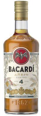 Bacardi Anejo Cuatro 100 cl. - Alc. 40% Vol.