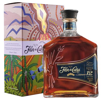 Flor de Caña Centenario 12 YO Giftbox 100 cl. - Alc.  40% Vol.