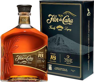 Flor de Caña Centenario 18 YO Giftbox 100 cl. - Alc. 40% Vol.