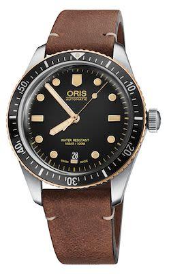 Oris Divers Gents Herritage 65 Watch, Black