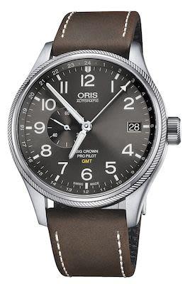 Oris Gents Big Crown Propilot GMT Watch