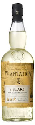 Plantation 3 Stars Silver Rum 100 cl - Alc. 41,2% Vol.