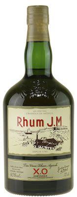 Rhum JM Tres Vieux Rhum Agricole XO - 70 cl. - Alc. 45% Vol.
