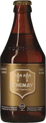 Chimay Gold 24x33 cl. btls. - Alc. 4.8% Vol.
