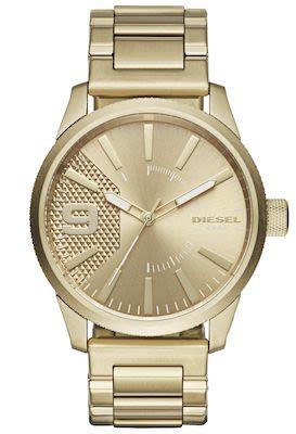 Diesel Gent's Rasp Gold Watch