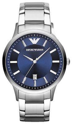 Emporio Armani Gent's Renato Silver Watch