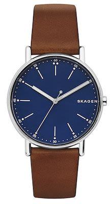 Skagen Gent's Signatur Silver Watch