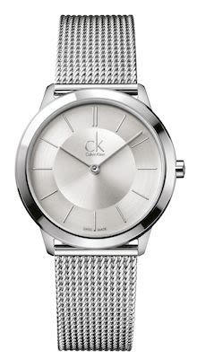 Calvin Klein Ladies' Minimal Watch Silver