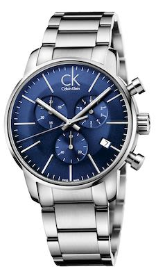 Calvin Klein Gent's City Watch Silver