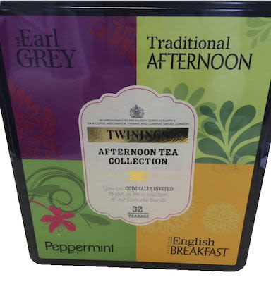 Twinings Afternoon Tea Collection, 32 pieces