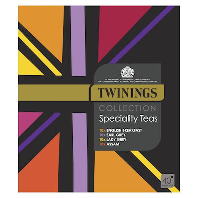 Twinings Specialty Teas Collection, 40 pieces