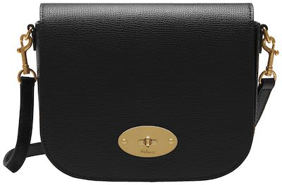 Mulberry Ladies' Small Darley Satchel, Black leather