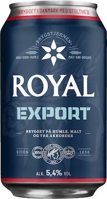 Royal Export 24x33 cl. cans. - Alc. 5.8% Vol.