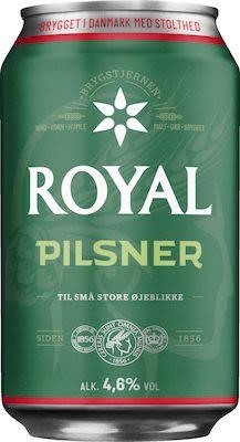 Royal Pilsner 24x33 cl. cans. - Alc. 4.6% Vol.