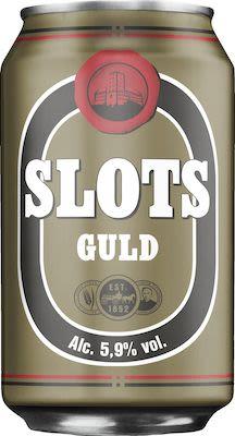 Slots Gold 24x33 cl. cans. - Alc. 5.9% Vol.
