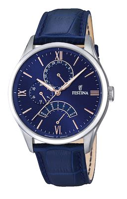Festina Gent's Retro Multifunction Watch