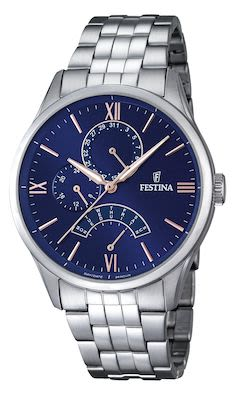 Festina Gent's Retro Classic Multifunction Watch