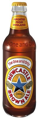 Newcastle Brown Ale 24x33 cl 4,7% Alc. bottle