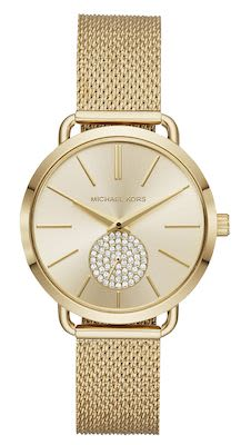 Michael Kors Ladies' Portia Gold Watch