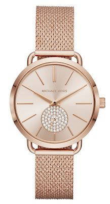 Michael Kors Ladies' Portia Rose Gold Watch