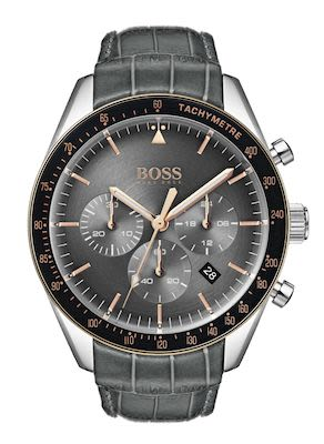 Hugo Boss Gent's Grey Trophy Watch