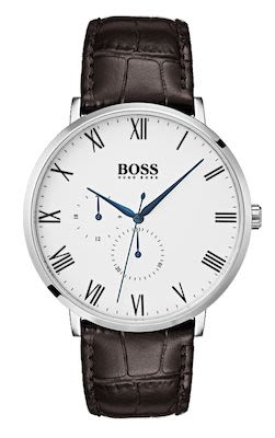 Hugo Boss Gent's White William Watch