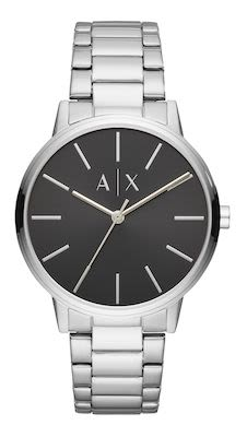 Armani Exchange Cayde Gent's Silver Watch