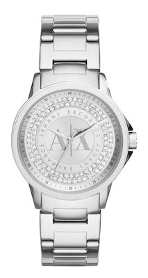 Armani Exchange Lady Banks Ladies' Silver Watch