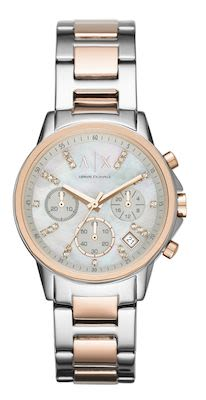 Armani Exchange Lady Banks Ladies' Rosegold Watch