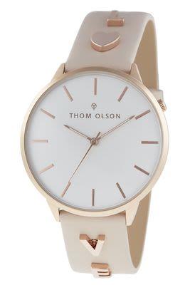 Thom Olsen Ladies' Message Rosegold Watch