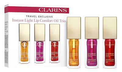 Clarins Instant Light Lip Comfort Oil Trio